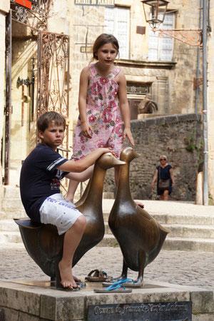Marché aux oies à Sarlat