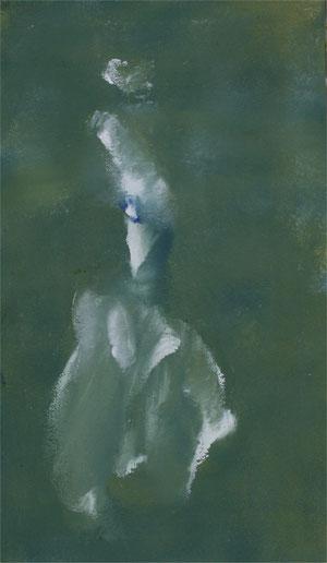 Imaginaire 2012-09 acrylique sur toile 50 x 29,7