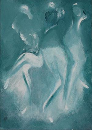 Imaginaire 2012-01 acrylique sur toile 50 x 70 2