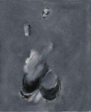 Imaginaire 2012-07 acrylique sur toile 46 x 38
