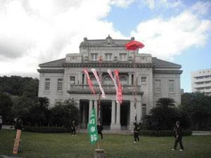 上町傘鉾振興会の演技