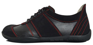 Senmotic barefoot shoes - Performa F1 Black/Red