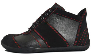 Senmotic barefoot shoes - Performa H1 Black/Red