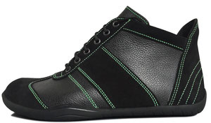 Senmotic barefoot shoes - Performa H1 Black/Green