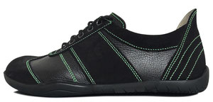 Senmotic barefoot shoes - Performa F1 Black/Green