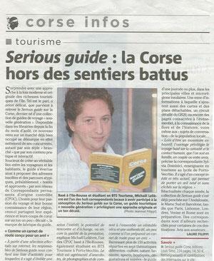 Corse-Matin 30/09/2009