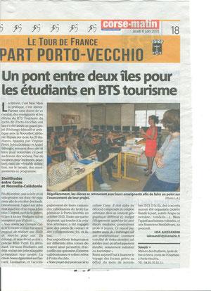 Corse-Matin 06/06/2013