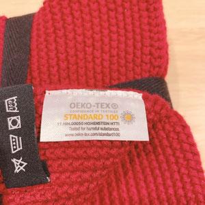 エコテックス認証 スタンダード100 ニットクロス デンマーク 繊維 安心安全
