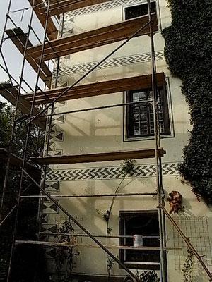 Fasadenrestaurierung Herbst 2009