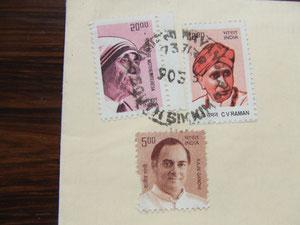インドの切手