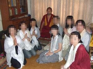 瞑想学堂長ツルティム・テンジン師