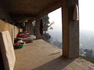 瞑想学堂の行場