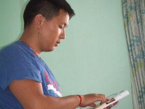 チベット人の先生