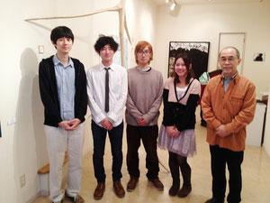 『ガレリア青猫』〜「武蔵野美術大学2012卒業の新人作家展」