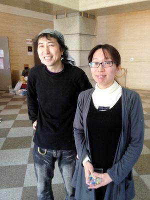 TADASUKEさんと澤崎さん