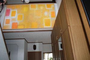 「光の場所」 油彩 120cm×220cm