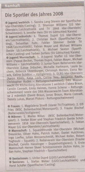Quelle: Nahe-Zeitung vom 27.04.09