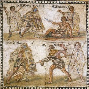 Mosaico della Via Appia, Roma, IV sec. d.C.