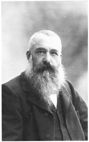 Claude Monet par Nadar, 1889.