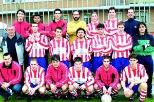 El Llodio-Salleko estrenó su nueva denominación con el ascenso a Tercera la temporada 2002/03.