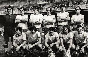 A pesar de tener a jugadores como Alexanco, Dueñas, Urquijo u Oñaederra, este Llodio de la temporada 72/73 acabó colista de Tercera.