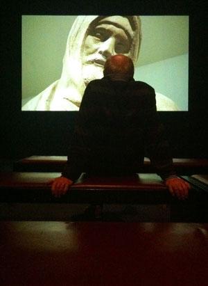 """J.v.Troschke, """"Kunst-Betrachtung"""" in der Ausstellung """"Florenz"""" der Bundeskunsthalle in Bonn, 2013"""