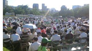 2010年8月6日 広島市平和記念式典
