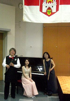 2007年5月広島国際平和文化センター主催ハノーファーの日ドイツ音楽コンサートでも演奏しました