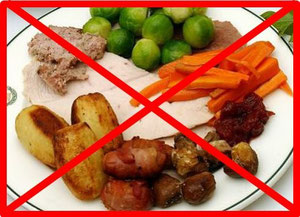 Rich foods are not permitted during a fasting.