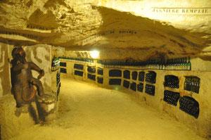 La cave des Gautelleries à Ruillé sur Loir