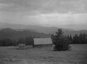 Widok z polany łapsowej. Fot. Dominik Księski