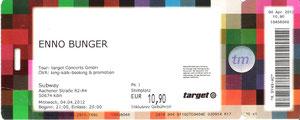 Nr.47 - 04.04.2012 - Enno Bunger - Subway, Köln