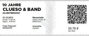 Nr.68 - 31.12.2012 - clueso - Messehalle, Erfurt
