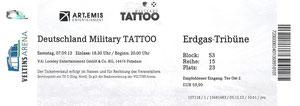 ohne Nr. - 07.09.2013 - Deutschland Tattoo - Arena Auf Schalke, Gelsenkirchen