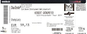 Nr.40 - 10.06.2011 - Herbert Grönemeyer - Eisstadion, Kassel