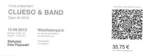 Nr.59 - 15.09.2012 - clueso - Westfalenpark, Dortmund