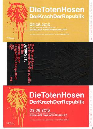 Nr.97 - 09.08.2013 - Die Toten Hosen - ehem. Flughafen Tempelhof, Berlin