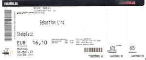 Nr.79 - 06.05.2013 - Sebastian Lind - Blue Shell, Köln