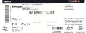 Nr.86 - 06.06.2013 - Asta-Sommerfestival (u.a. mit Kraftklub) - Universität Paderborn