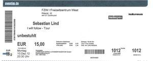 Nr.65 - 10.12.2012 - Sebastian Lind - Freizeitzentrum West, Dortmund