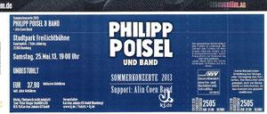 Nr.84 - 25.05.2013 - Philipp Poisel - Stadtpark, Hamburg