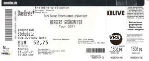 Nr.41 - 13.06.2011 - Herbert Grönemeyer - Müngersdorfer Stadion, Köln