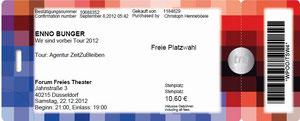 Nr.67 - 22.12.2012 - Enno Bunger - FFT, Düsseldorf