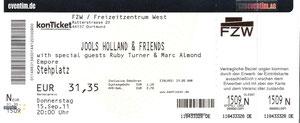 Nr.44 - 15.09.2011 - Jools Holland - Freizeitzentrum West, Dortmund