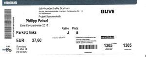 Nr.49 - 13.05.2012 - Philipp Poisel - Jahrhunderthalle, Bochum