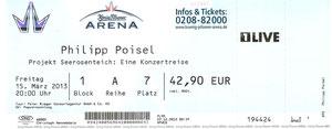 Nr.71 - 15.03.2013 - Philipp Poisel - KöPi-Arena, Oberhausen
