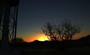 Sonnenuntergang, etwas früher