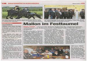 Pferdefest Mallon in der aktuellen NÖN