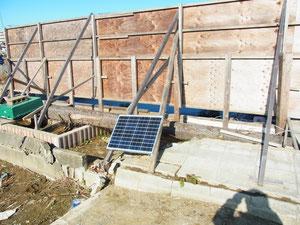 12月 ソーラーパネル設置