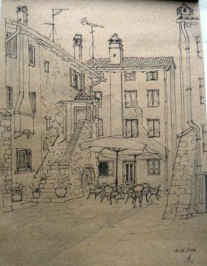 Cafe in Grado